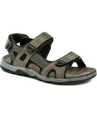 Magnus 65-0255-c1 hnědé pánské sandály 94a62945e30