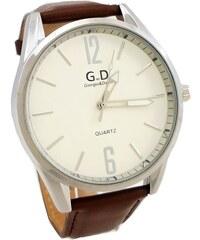 Pánské hodinky G.D Clear hnědé 317ZP ef32c6a8399