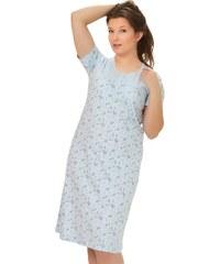 80bdbe0fb52d Dámska nočná košeľa Aurel s krátkym rukávom so vzorom kvetov M-Max