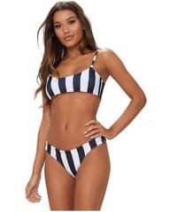 PRETTYLITTLETHING Bikini kalhotky s proužkou 29bd6ca6bb