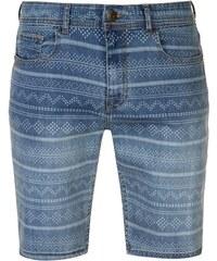 SoulCal Aztec Shorts pánské Mid Wash 7e71b97f58