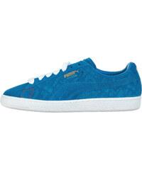 f39a0f637a141 Tmavě modré jednobarevné pánské boty - Glami.cz