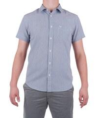 Pánská košile WRANGLER W58604M49 REGULAR FIT PEACOAT BLUE M af5a5f55ba
