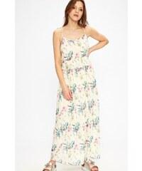 LASCANA Dlouhé šaty s dekorativním spirálám na ramínkách bílá-pestrá ... bcb166c373c