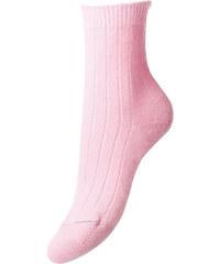 ANTORINI Luxusní růžové kašmírové dámské ponožky Tabitha d7840caf0e