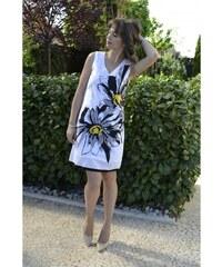 Bílé letní midi šaty - Glami.cz 3163d1d2fd3