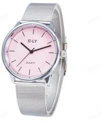 Shim Watch Dámské kovové hodinky Relogio růžové 5403195c221