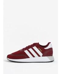 Vínové pánské tenisky adidas Originals Iniki Runner 4f8212d1ba