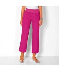 Vypredaj-zlavy.sk Lanové 7 8 nohavice ružová def0c7a05d6