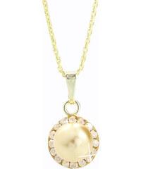 08ab4b67c ArtCrystal-J Stříbrný náhrdelník s půlperlou a kameny Swarovski components  I.