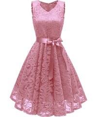 7caee51b4a4 Dámské společenské šaty Catlin růžové - růžová