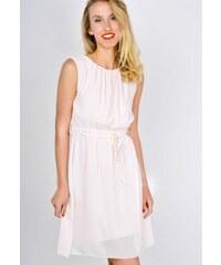 8eade39dd339 ... modré dámske hárem nohavice s guličkami. Detail produktu · The SHE  Púdrovo ružové letné šaty bez rukávov