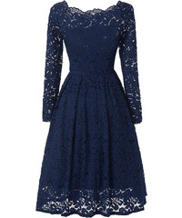 Dámské společenské šaty Abiy modré - modrá 5226954bffd