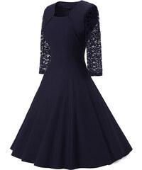 d9999ac0352 Dámské společenské šaty Daniah modré - modrá