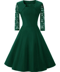 Dámské společenské šaty Daniah zelené - zelená 69eb60f171