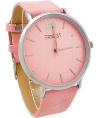 Dámské hodinky Ernest Soil růžové 745D ab12194396