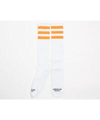 e0c5985350e Ponožky American Socks Sunrise Knee High White Orange