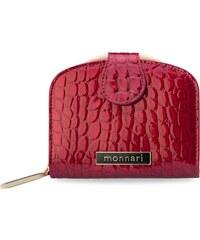 62e18cdb545 Originální dámská peněženka monnari třídílná lak - červená