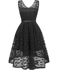 Dámské společenské šaty Eliora černé - černá 6077f7c0b7