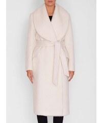Bílé zimní elegantní dámské bundy a kabáty - Glami.cz 335ecbe3df4