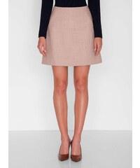 Béžová elegantní sukně - Glami.cz b733abd400