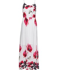 Bílé letní maxi šaty se vzorem - Glami.cz cf09ccc7b7