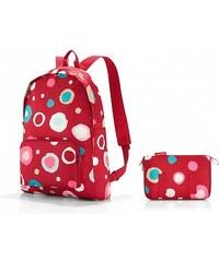 d068403a674 Skládací dámský batoh Mini Maxi rucksack funky dots 2 - AP3048 poslední  kus