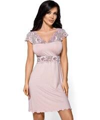 Hamana Elegantní košilka Helen Camea světlerůžová b3ee101747
