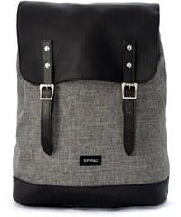 SPIRAL Černo šedý batoh Soho 5c18347ea9