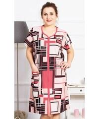 5ff18e19d780 Vienetta Dámske domáce šaty s krátkym rukávom Michaela