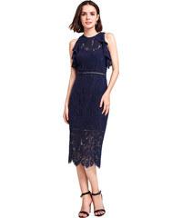 Tmavě modré šaty s krajkou z obchodu CoolBoutique.cz - Glami.cz 3fd12dc05e
