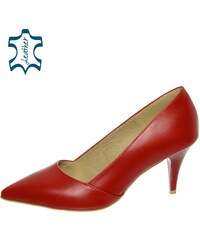 Červené Dámske topánky z obchodu Svettopanok.sk  74ec8846430