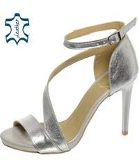 a465aee32f48 Metalický Dámske sandále z obchodu Svettopanok.sk - Glami.sk