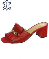 5a1181e4a215 Červené Dámske topánky z obchodu Svettopanok.sk
