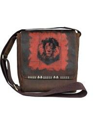 HOFFEbelts Kožená taška cez rameno