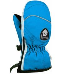 Dětské lyžařské rukavice Snowlife Teddy Mitten Turquoise 445ffc7637