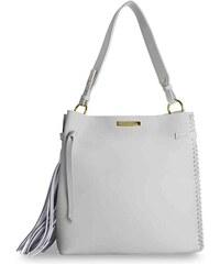 KATIE LOXTON Pastelovo šedá kabelka Florrie Day Bag 81569d9b859