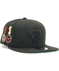 1451662f2e8 Kšiltovka New Era Winners Patch Chicago Bulls 9FIFTY Official Team Colors  Snapback