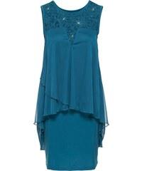 bonprix Žerzejové šaty s šifónem a37ff33cb6