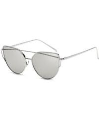 Carla Strieborné slnečné okuliare Glam Rock Fashion 5f2d45f4406