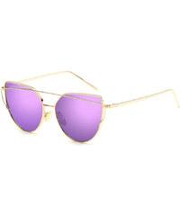 Carla Zlato-fuchsiové slnečné okuliare Glam Cat Eye c2432ba2ff0