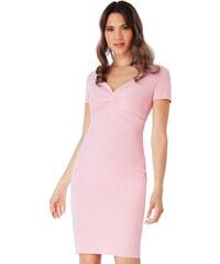 72d3979b153 CITYGODDESS Pouzdrové šaty Gabi růžové