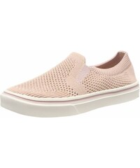 Tommy Hilfiger Damen Knitted Light Weight Slip on Sneaker, Pink (Dusty Rose 502), 36 EU