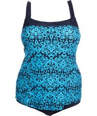 Modera Plavkové dámské plavky-šaty Kate 802 155d79d573