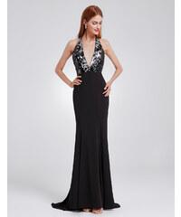 8cc15ff32052 Ever Pretty Luxusní sexy černé šaty 7164