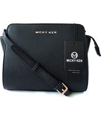 Micky Ken Luxusní kabelka MK3038 BLACK a7c49910e7c