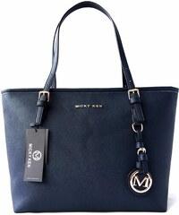 Micky Ken Luxusní kabelka MK6821 BLUE 30c88960945