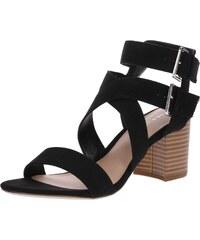 NEW LOOK Páskové sandály  PALADIUM  černá cd848a92f1