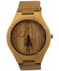 Pánské dřevěné hodinky Štír Estilo Sabroso ES05180 042a0cda374