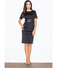 c24566b7ab8a FIGL Čierne puzdrové šaty - M204